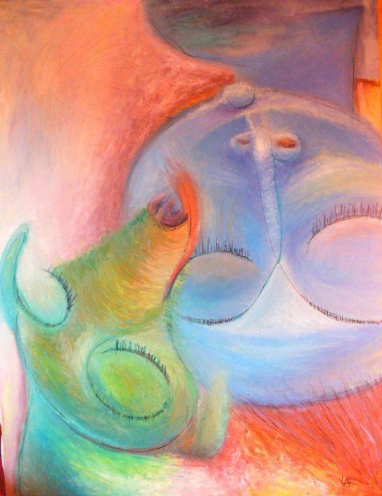 симбиоз в жизни и творчестве