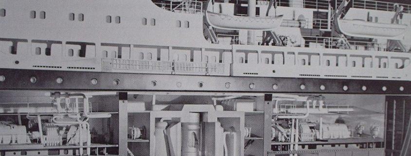 Атомный реактор АППУ ОК-150 для ледокола Ленин