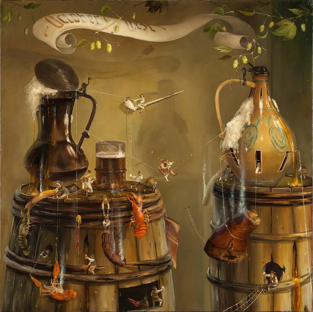 Выставка живописи Валерия Багаева Сказка на Рождество