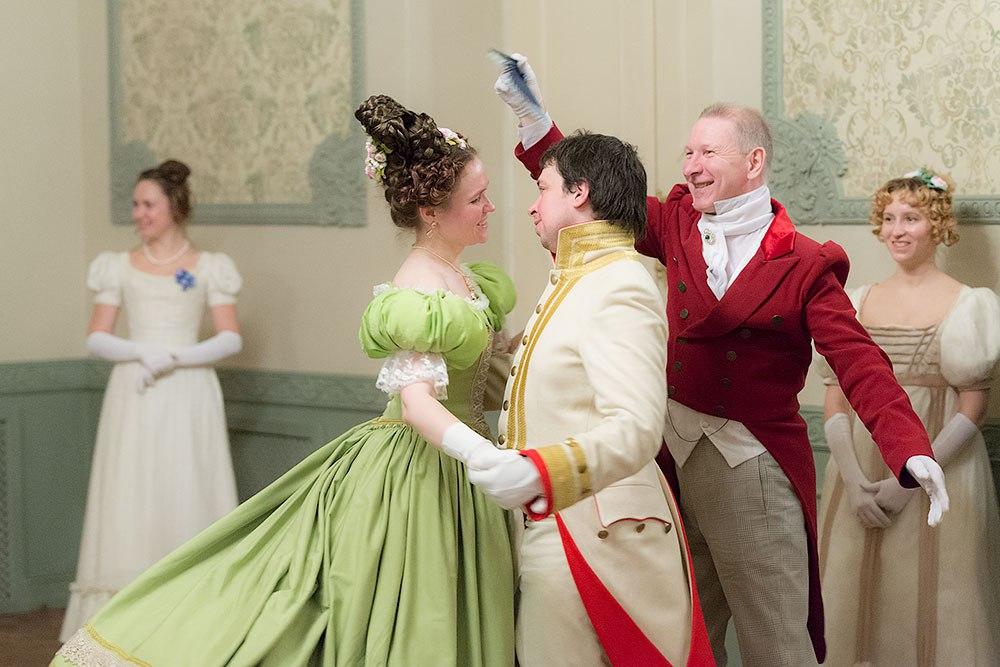 Бальные танцы XIX века – для всех
