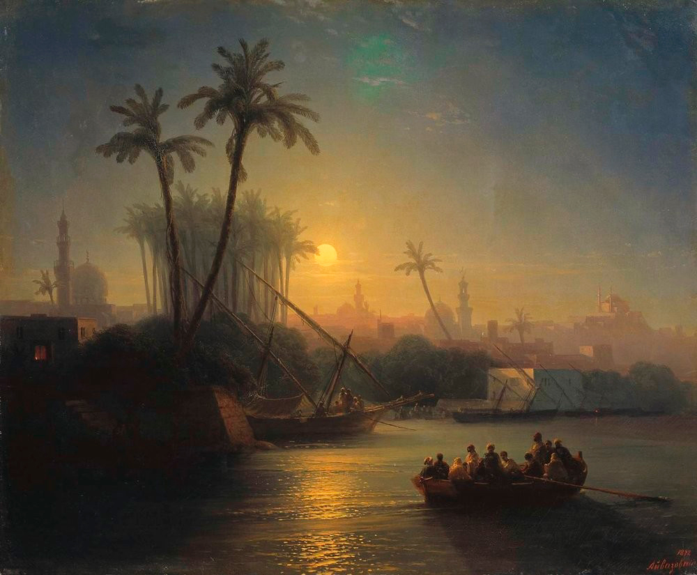 И.К. Айвазовский. Золотой рог (1872)