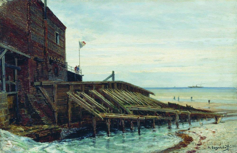 Боголюбов (1824-1896), Берега Нормандии