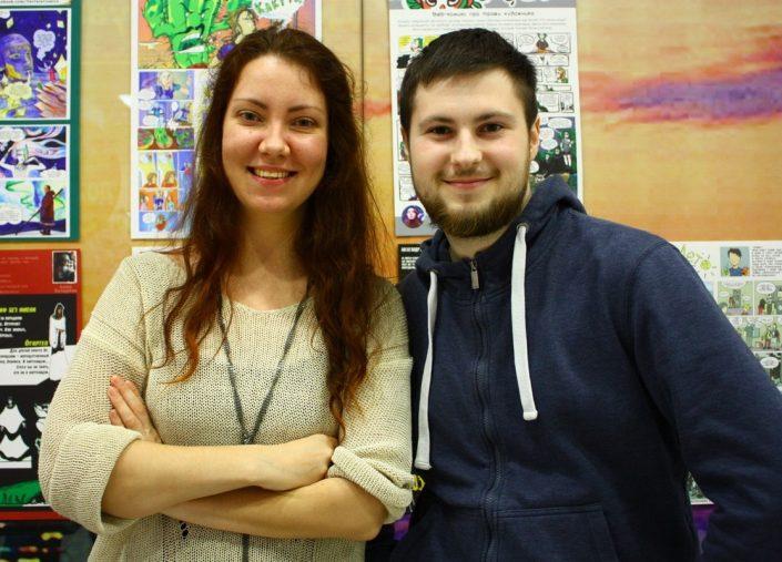 Наташа Соловьева и ее сценарист Алексей