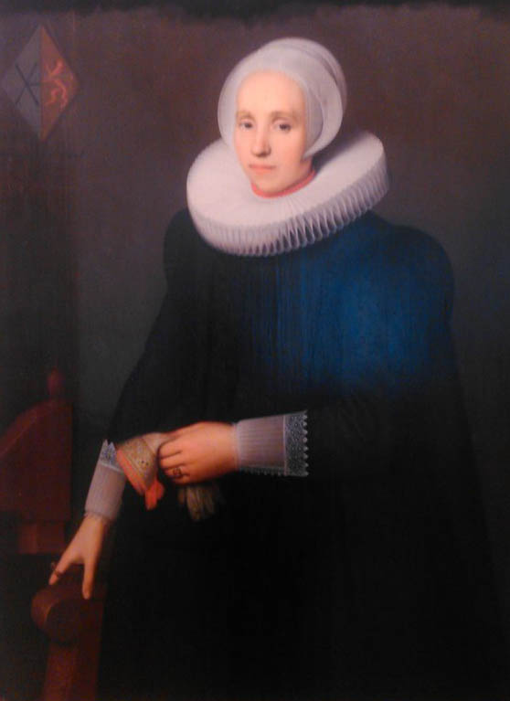 Портрет жены Айзенбрандта Аллерта-младшего 1628
