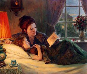 Многие россияне читают детям каждый день