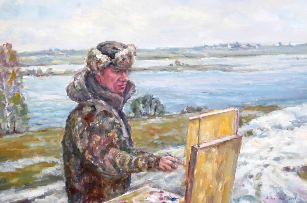 Выставка картин Алексея Чаннова Родные места