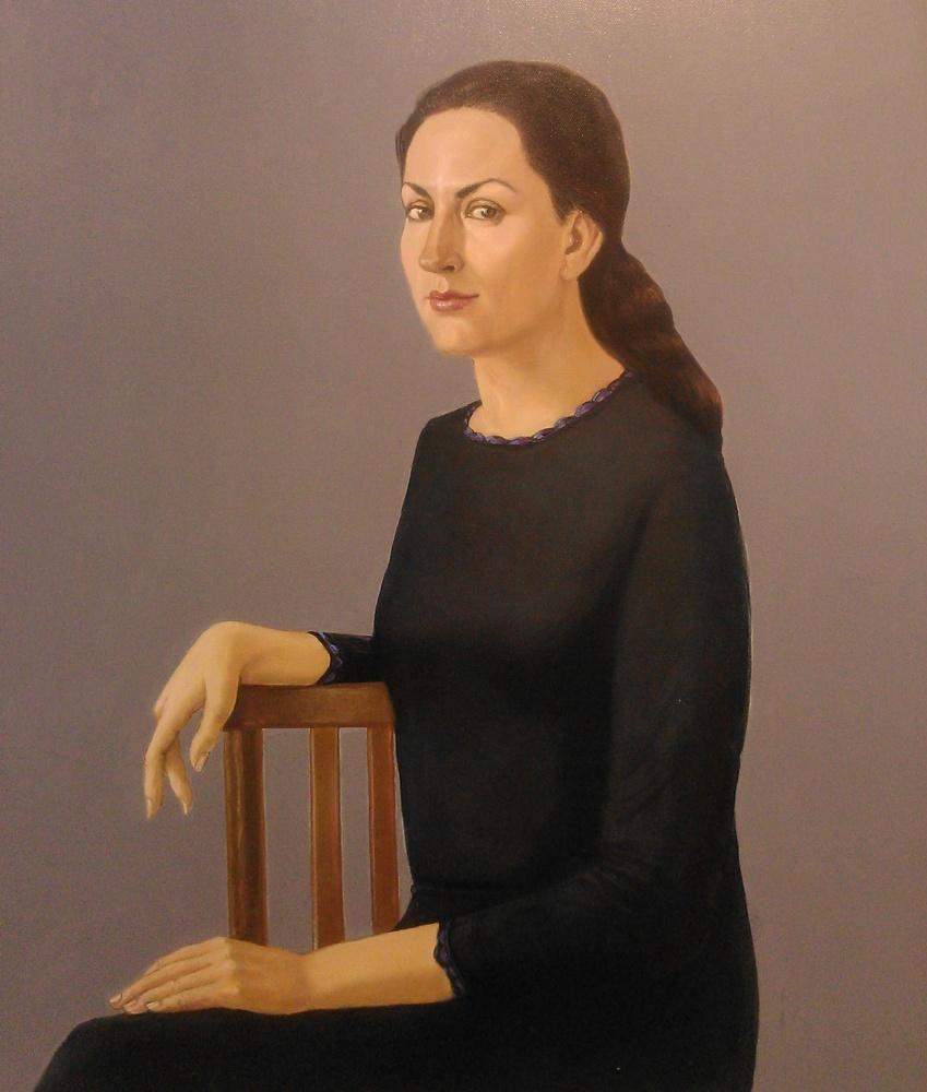 Портрет Милы Логиновой, 2017