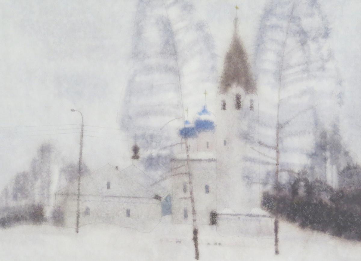 Персональная выставка картин художника-графика Александра Терентьева