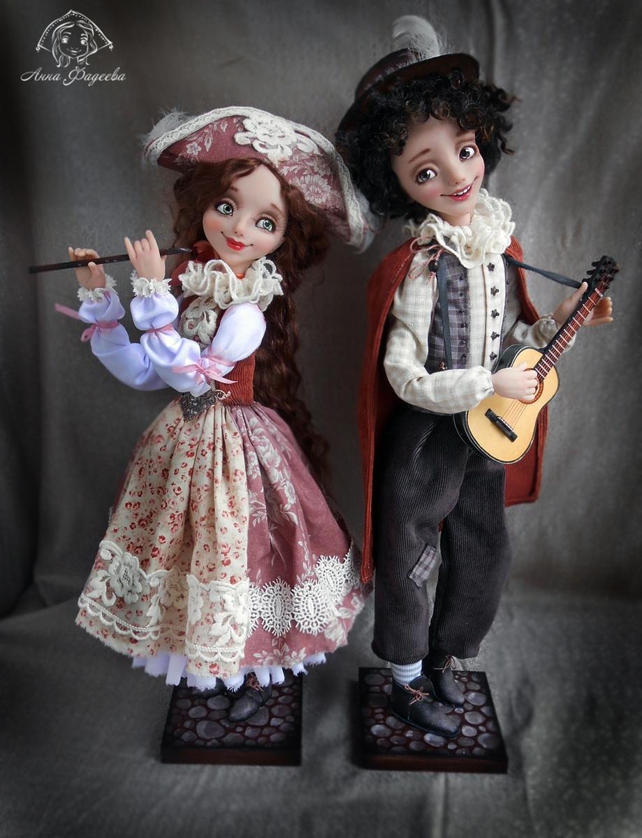 Выставка кукол Анны Фадеевой