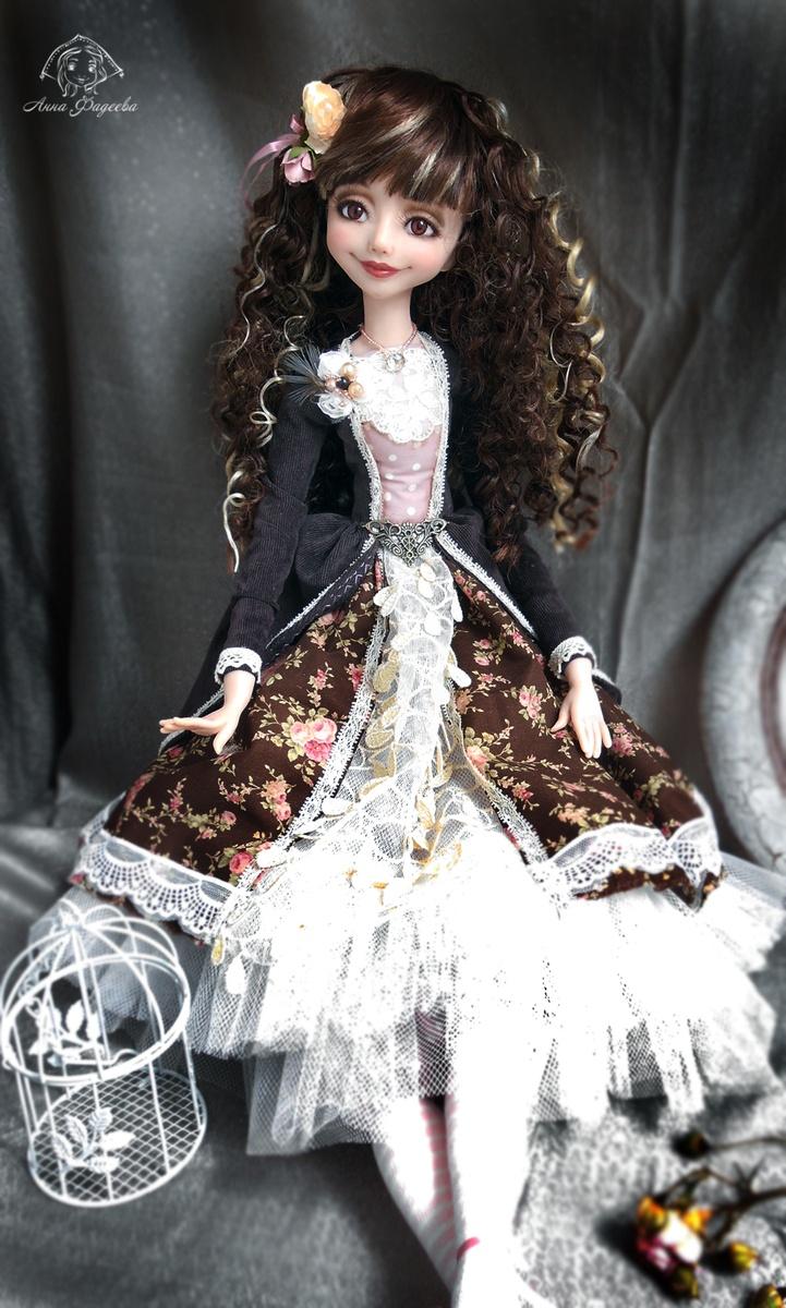 Авторские, коллекционные куклы ручной работы нижегородского мастера Анны Фадеевой