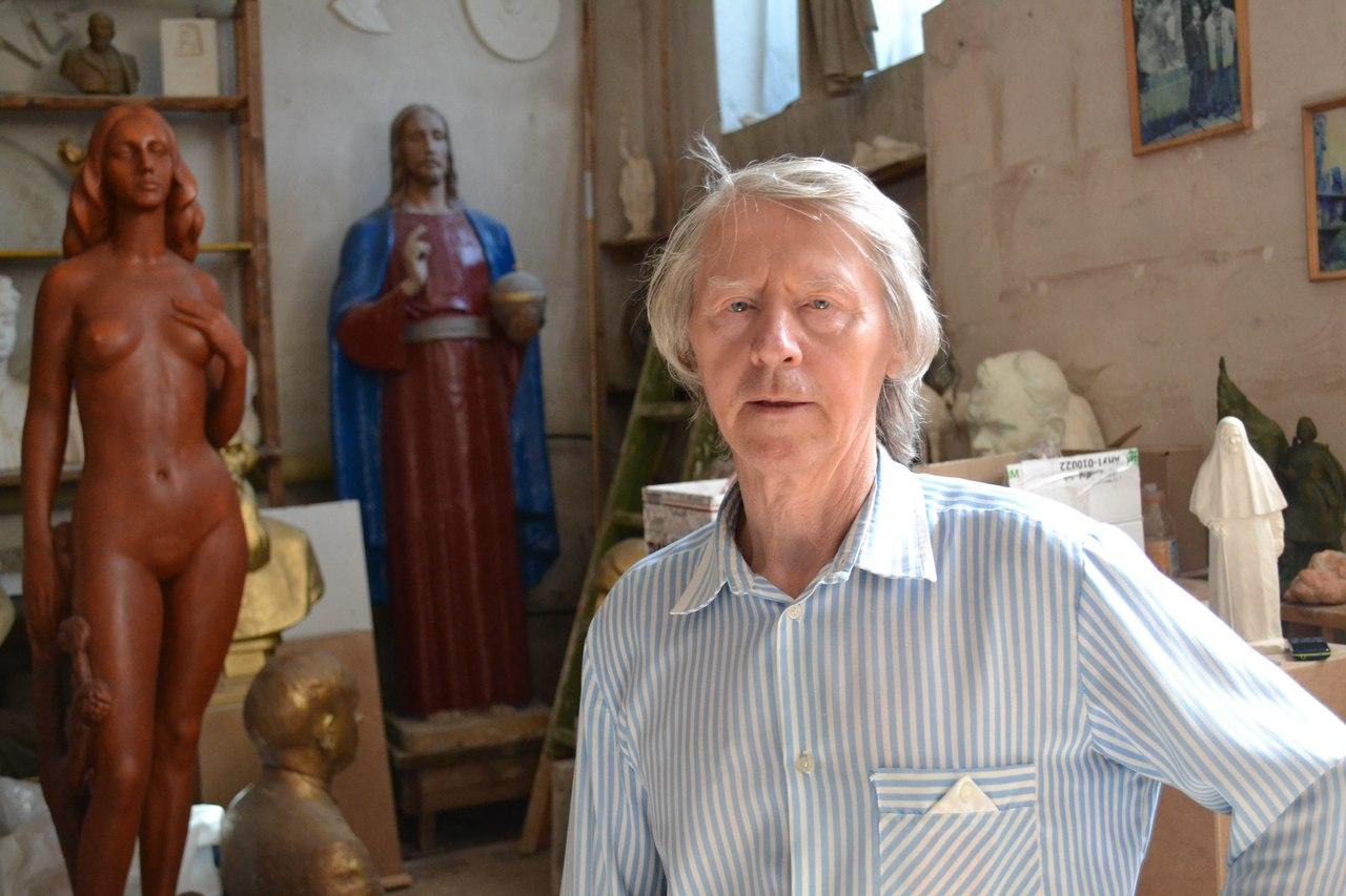 Персональная выставка скульптора Виктора Ивановича Пурихова