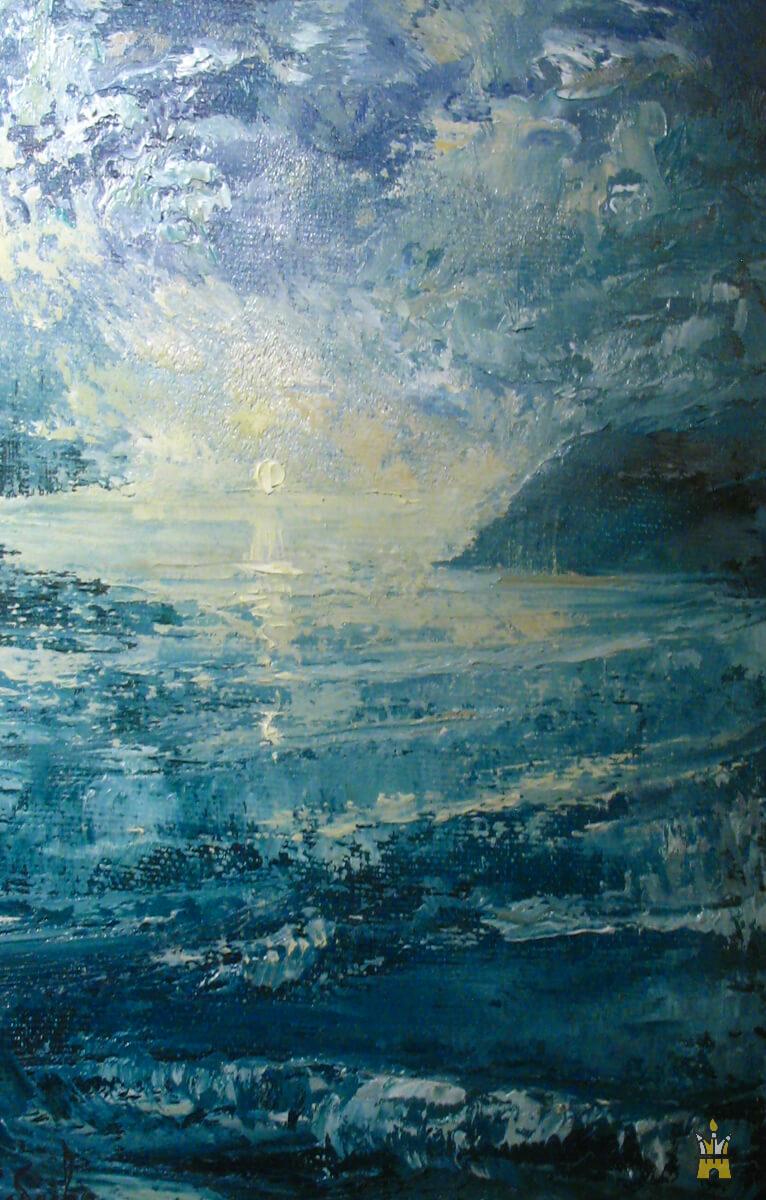 Выставка живописи Натальи Разбаевой - Сны о море