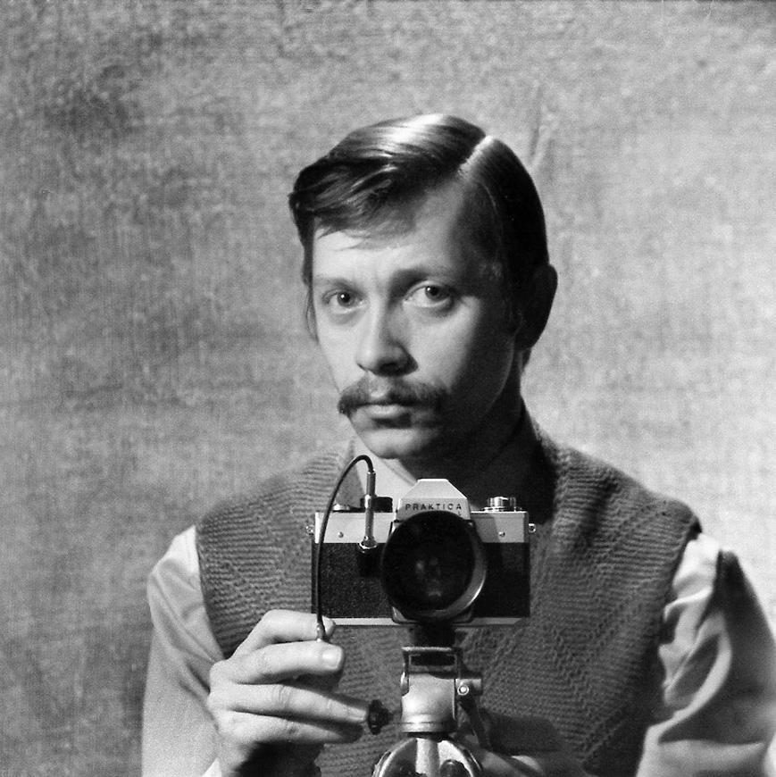 Автопортрет Николая Осоки, 1973 г.