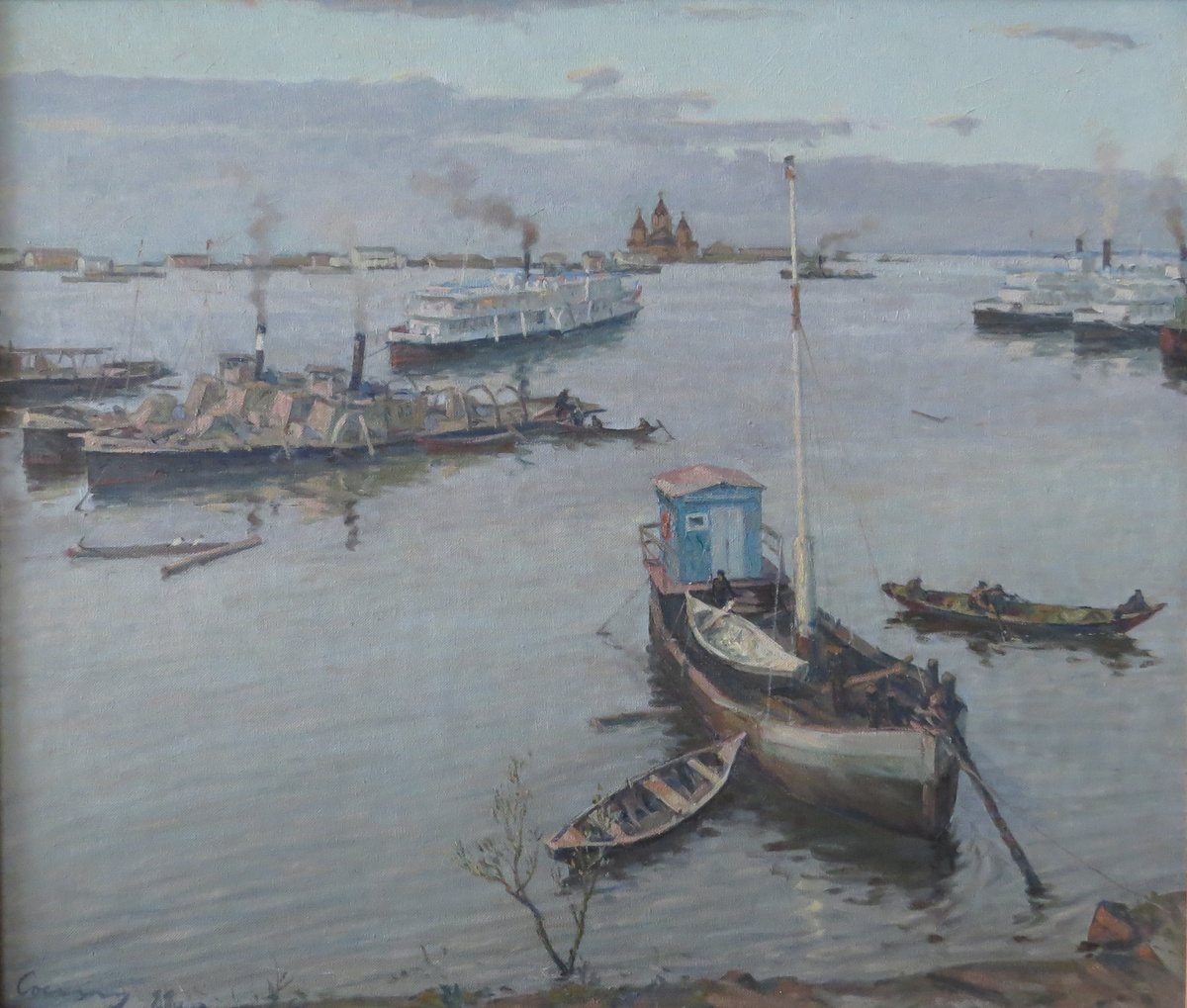 Персональная выставка Рудольфа Соснина