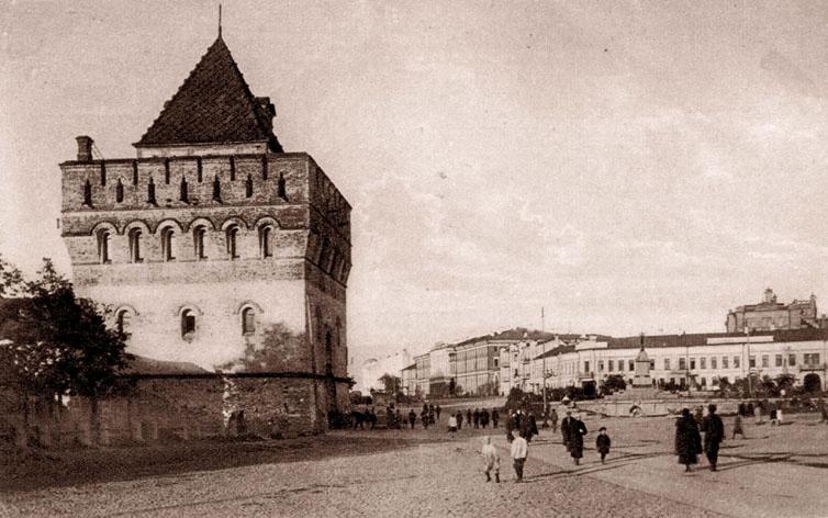 Советская площадь. Кремлевская башня и Университет, Главлит
