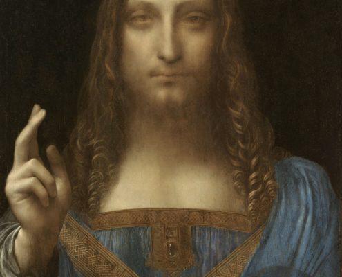 Леонардо да Винчи «Спаситель мира»
