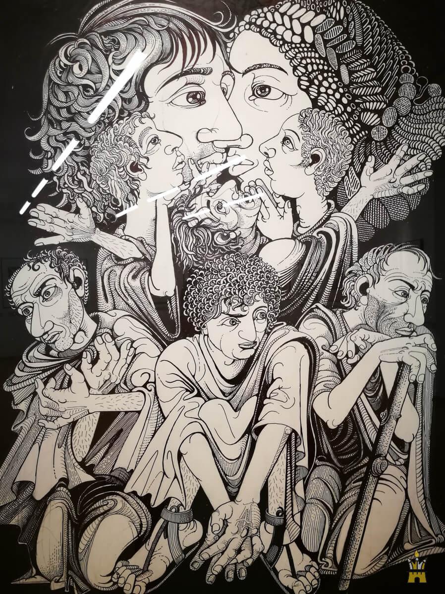 Иллюстрация к книге стихов Катулла