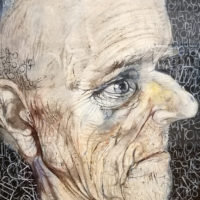 Человек по связям с общественностью. Иллюстрация к книге Кена Кизи «Над кукушкиным гнездом», 2005