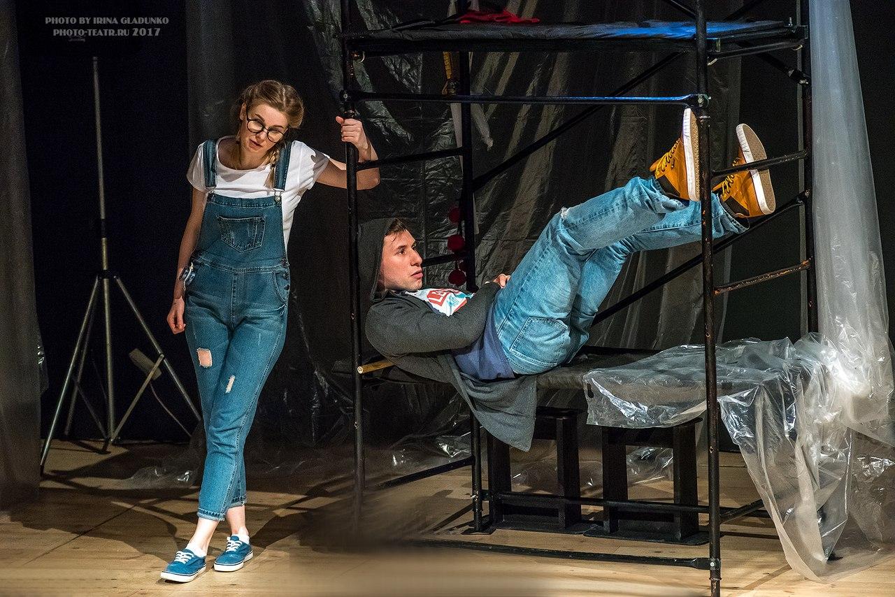 Премьера спектакля по пьесе шведского драматурга Андерса Дууса