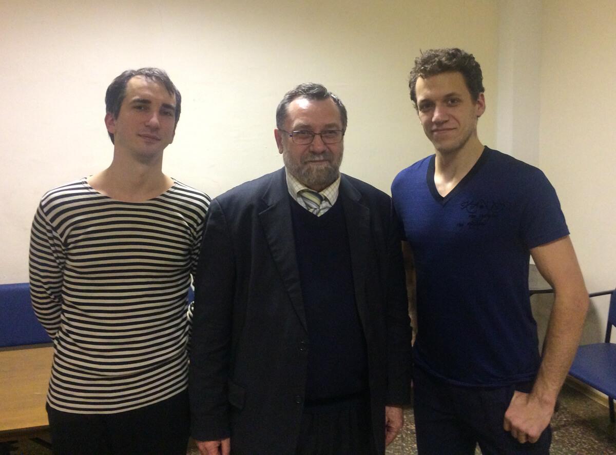 Алексей Пятаков, Александр Куксов, Станислав Фокин