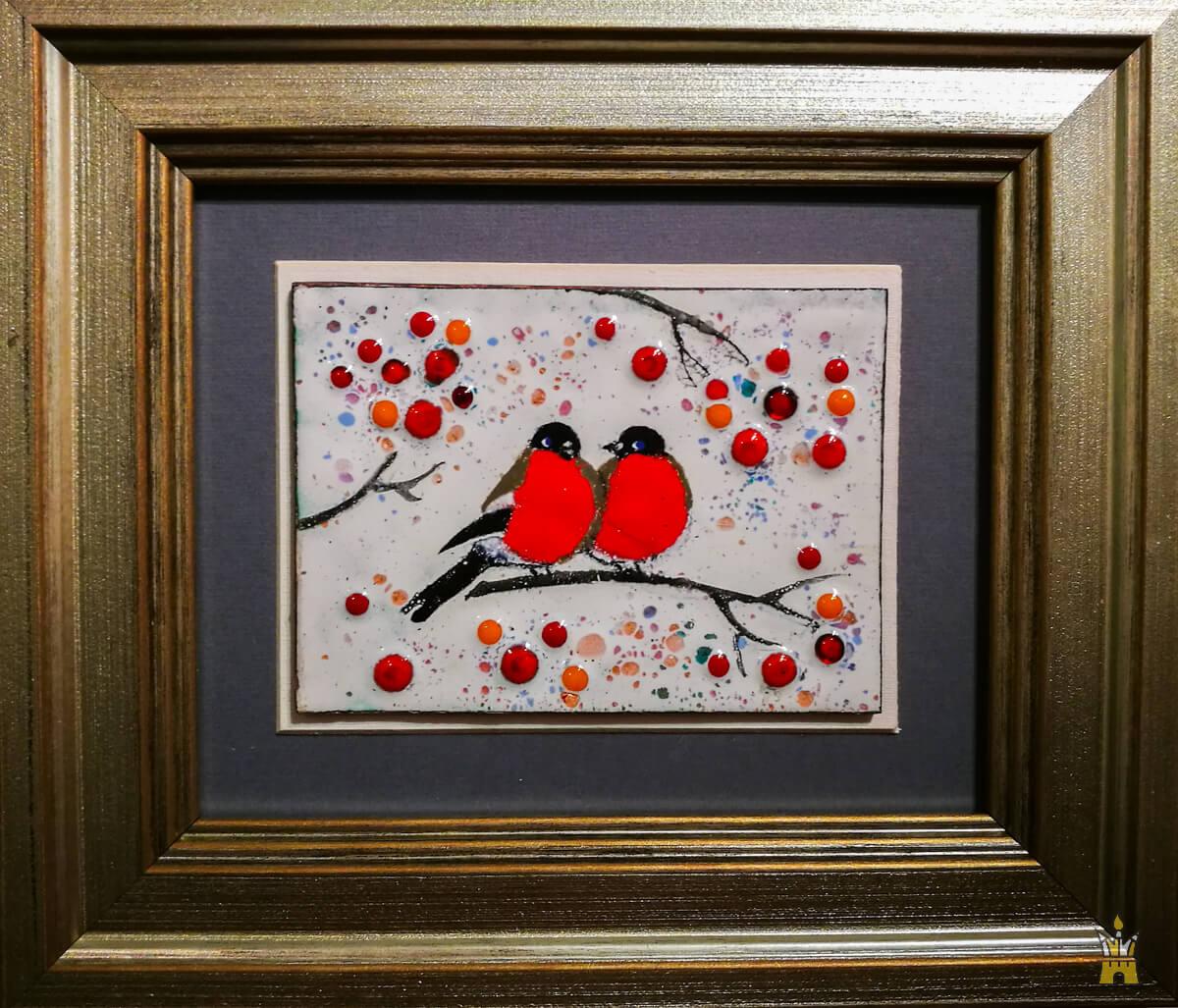 Выставка горячих эмалей Елены Сахаровой-Староверовой «Сад ангелов»