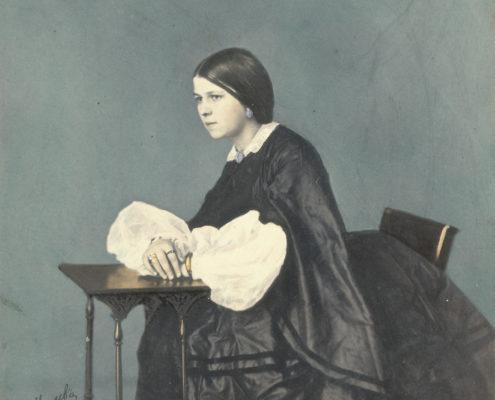 А. Нечаев. Портрет молодой девушки. 1860-е гг. Собрание МАММ / МДФ
