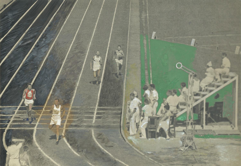 Александр Родченко. Бег. Стадион «Динамо». 1935 г. Собрание МАММ / МДФ