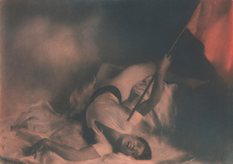 Василий Улитин. Пламя Парижа. 1932 г. Собрание МАММ / МДФ