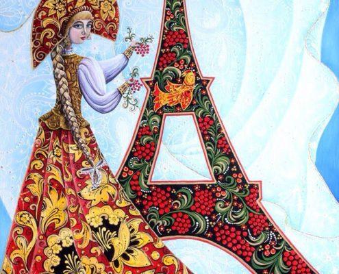 Золотая Хохлома в Париже