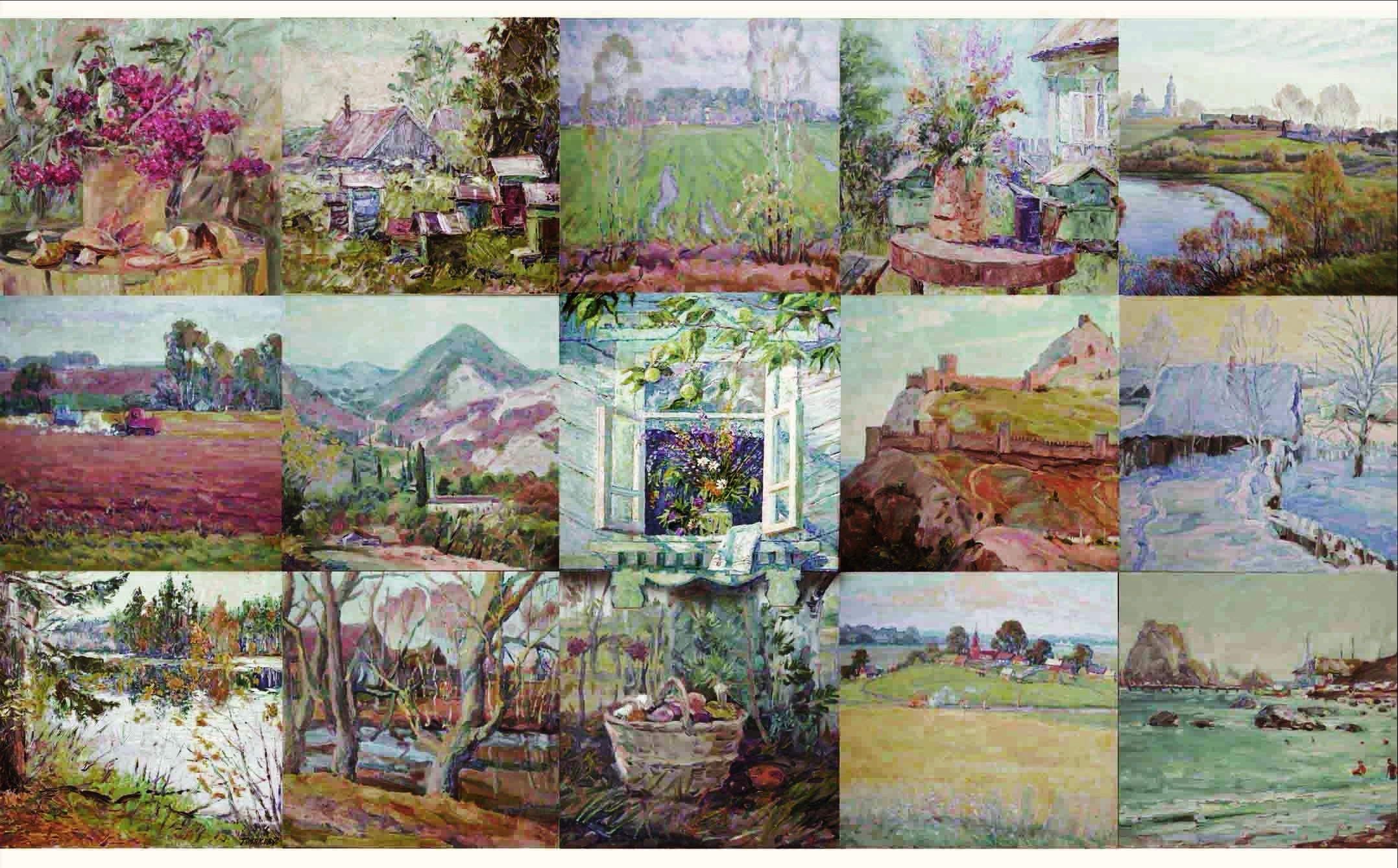 Персональная выставка Владимира Тулякова