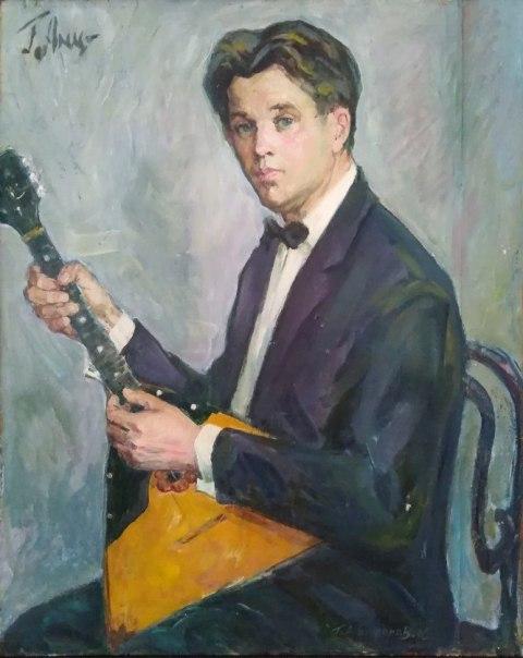 Г.В. Анциферов. Автопортрет.