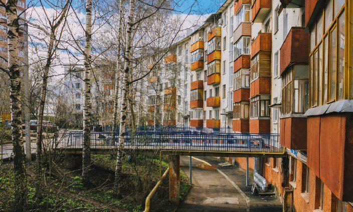 Радиусный дом на Федоровского, фотография Димы Четыре