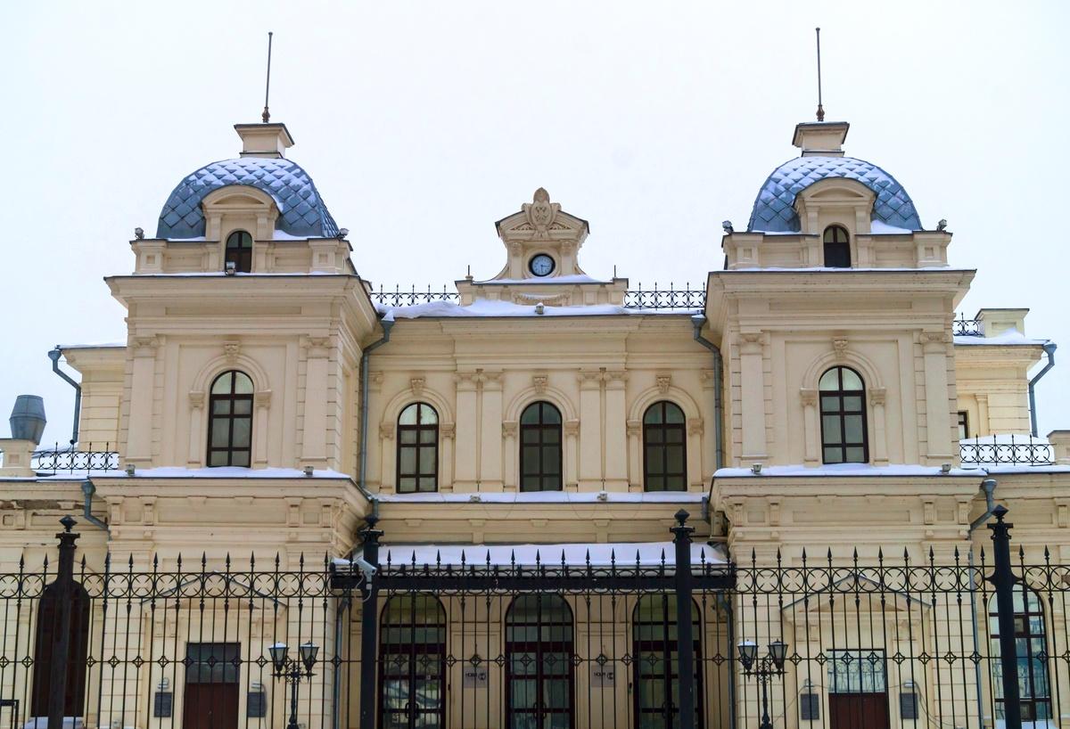 Ромодановский вокзал, зима 2018 года
