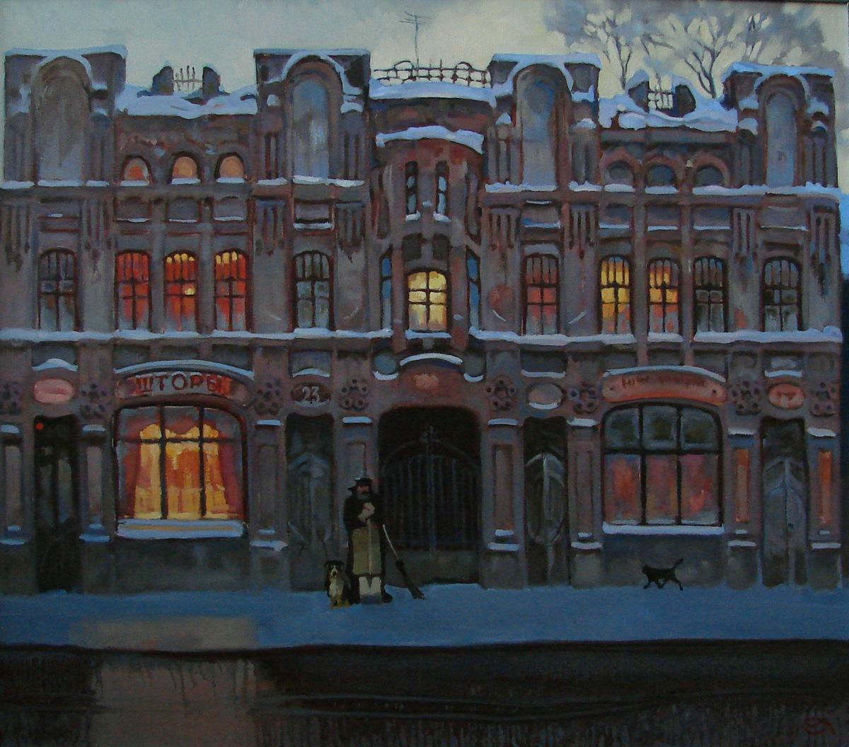 Персональная выставка Александра Чернигина