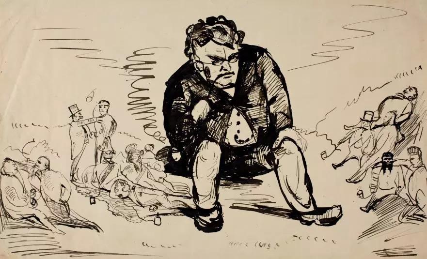 Эскизы и рисунки Эдварда Мунка появились в открытом доступе