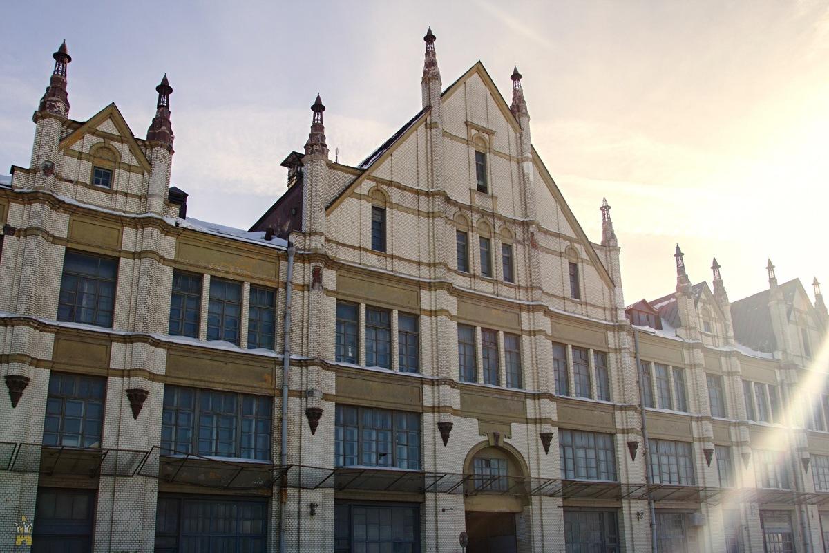 Торговый дом купца Рукавишникова на ул. Рождественской в Нижнем Новгороде (готика в архитектуре)
