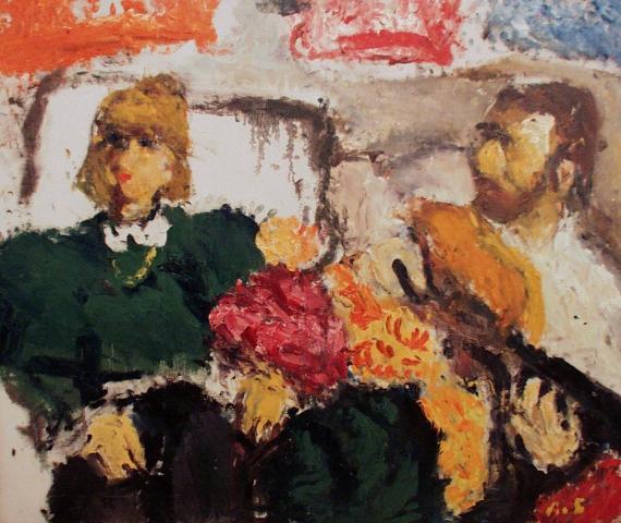 Выставка работ художника-экспрессиониста Арона Буха