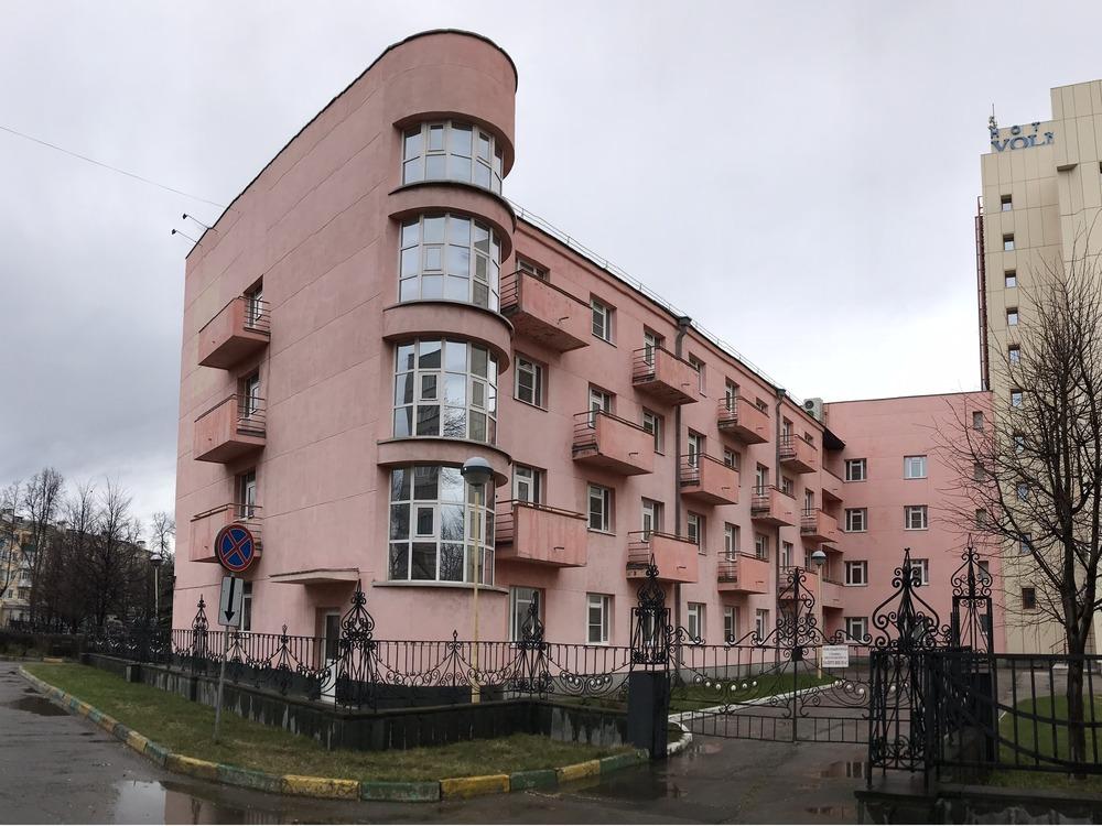 Гостиница Волна в Соцгороде, предназначавшаяся для американских специалистов