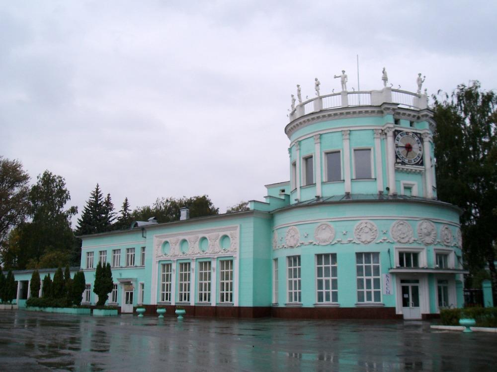 Станция детской железной дороги Родина, 1939 год, архитектор Александр Яковлев