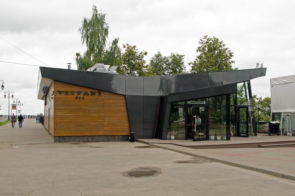 Бывшее кафе Чайка 1967 года