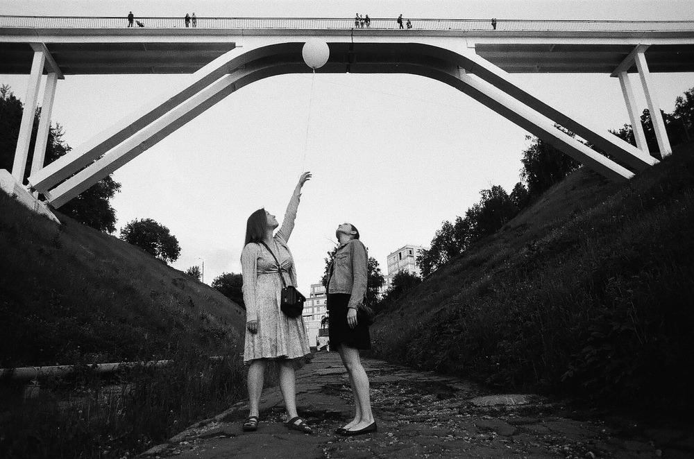 Один из мостов на набережной Федоровского, 1966 год