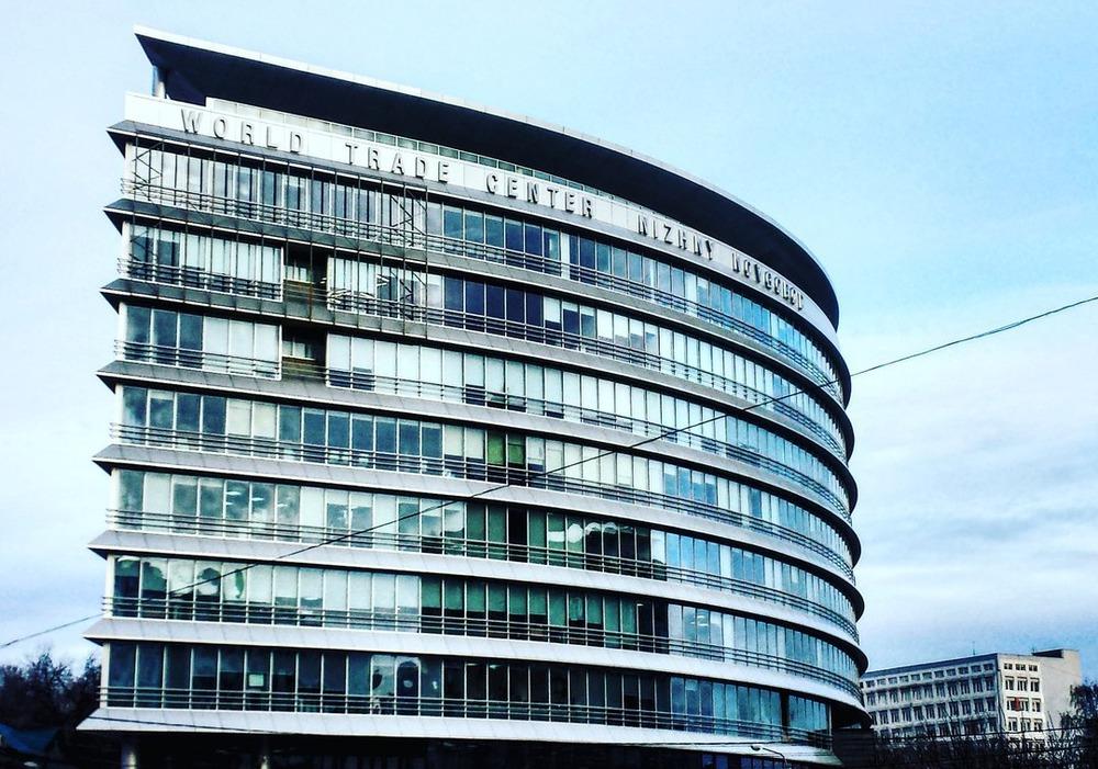 Центр Международной торговли, получивший в 2010 году премию за лучшую архитектуру на Всероссийском конкурсе