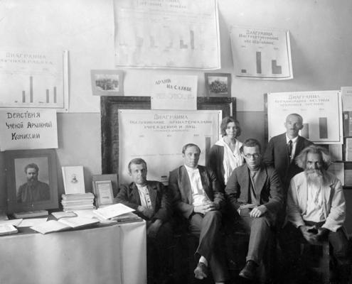 Выставка «Нижегородские архивы на службе России» в Русском музее фотографии