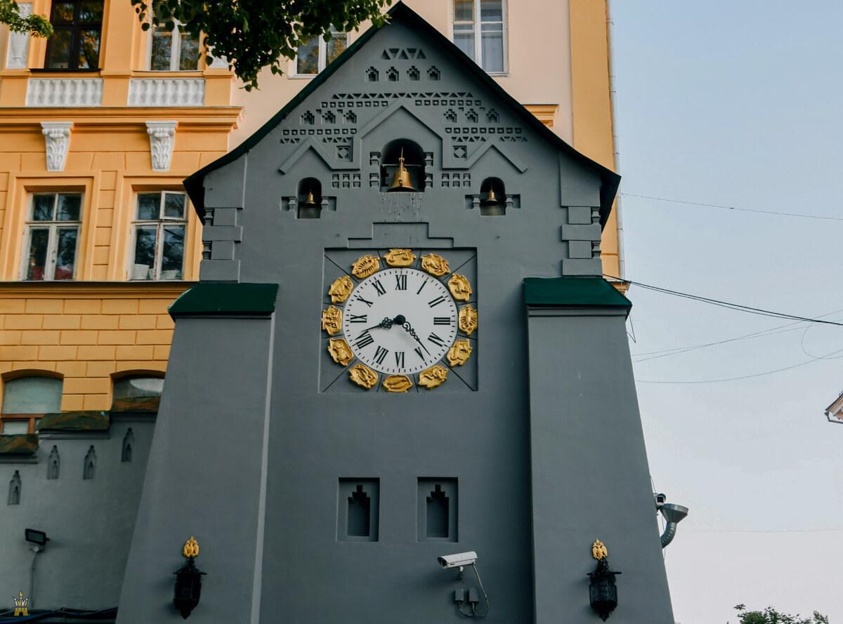 Часовая башня Государственного банка в Нижнем Новгороде