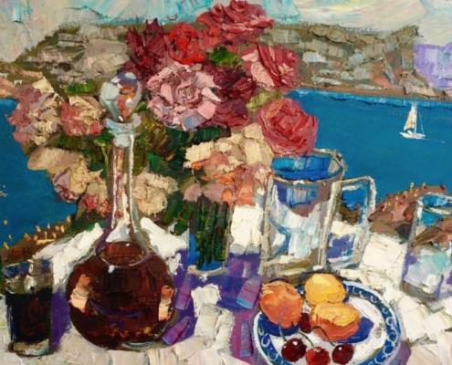 Выставка живописи и керамики «Крымские каникулы»