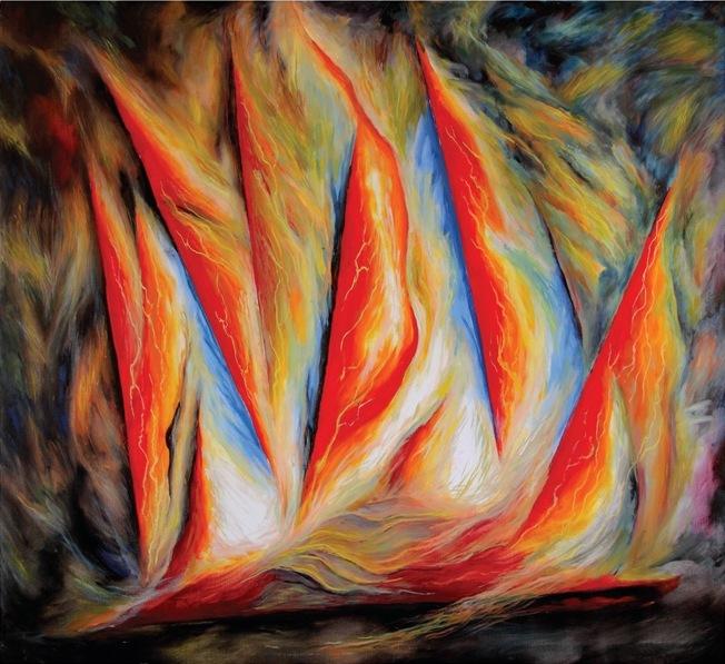 Выставка работ нижегородского художника Вячеслава Павлова «Философия парадокса» в Нижегородском государственном выставочном комплексе