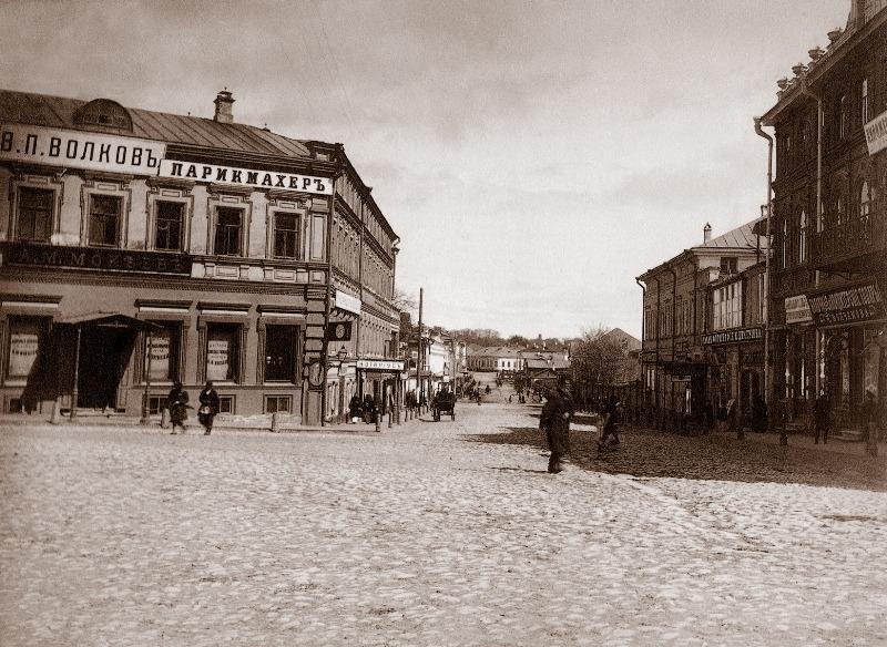 М.П. Дмитриев. Нижний Новгород 19 в., ул. Пискунова