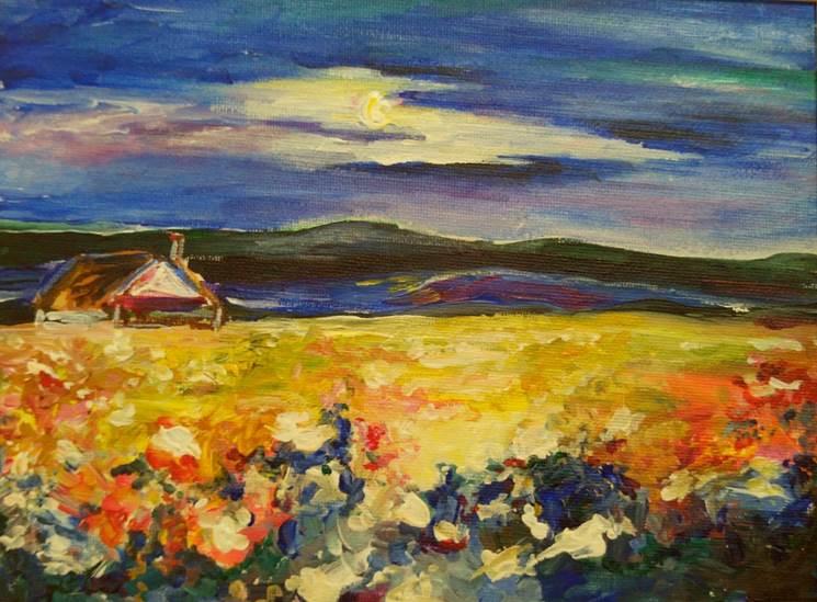 Выставка работ Марии Плеховой в музее Приокского района