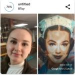 Google Arts & Culture стала доступна функция Art Selfie