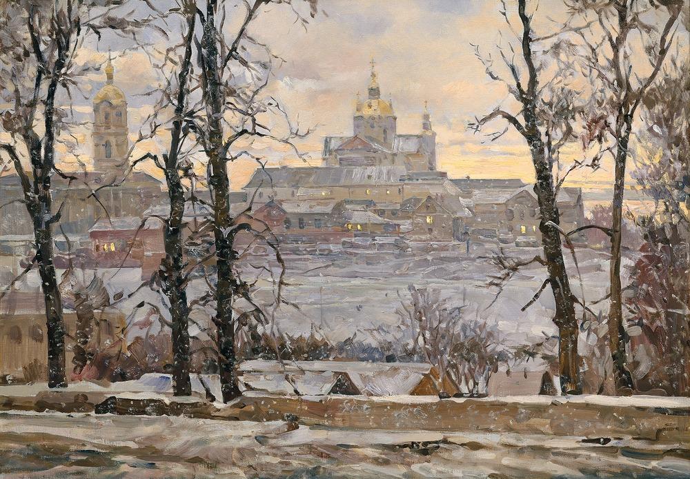 Персональная выставка Василия Нестеренко